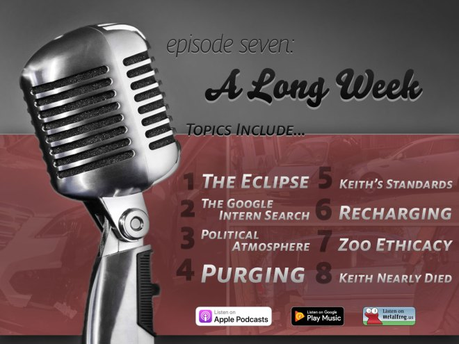 Episode Seven: A Long Week Topics