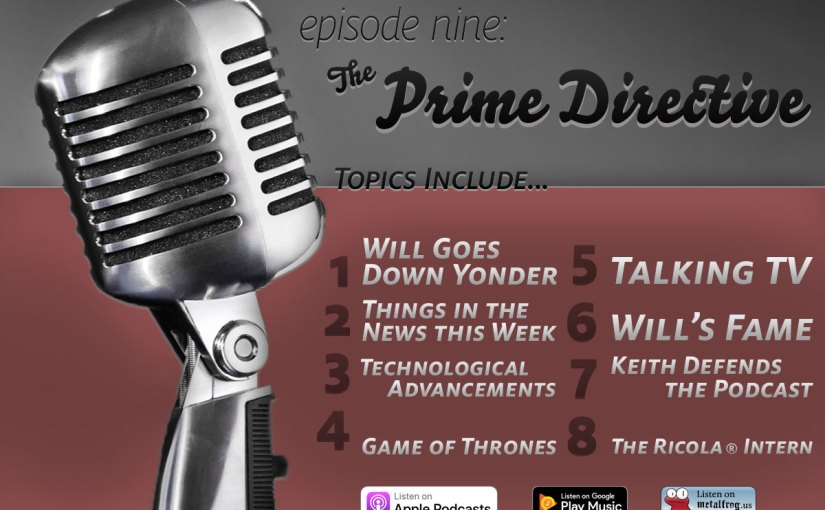 Episode Nine Topics List