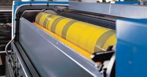 Os panos Sontara da Dupont são os mais indicados para limpeza de chapas, rolos e blanquetas