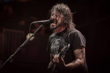 Dave Grohl and the Foo Fighters perform to a rabid crowd at Sonic Temple Festival 2019