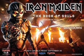 Iron Maiden - The Book of Souls 2017 Tour