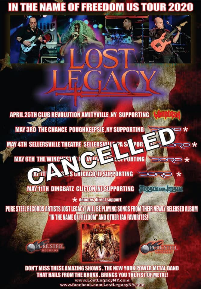 lost legacy canceled tour