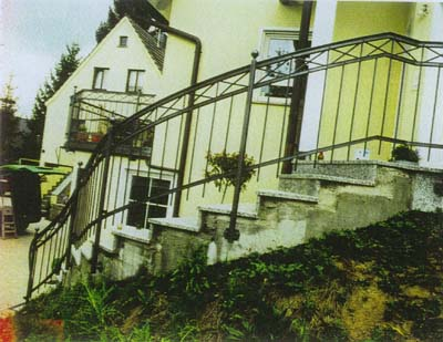 Treppengel Nder Im Bauhaus Stil Metallbau Haus