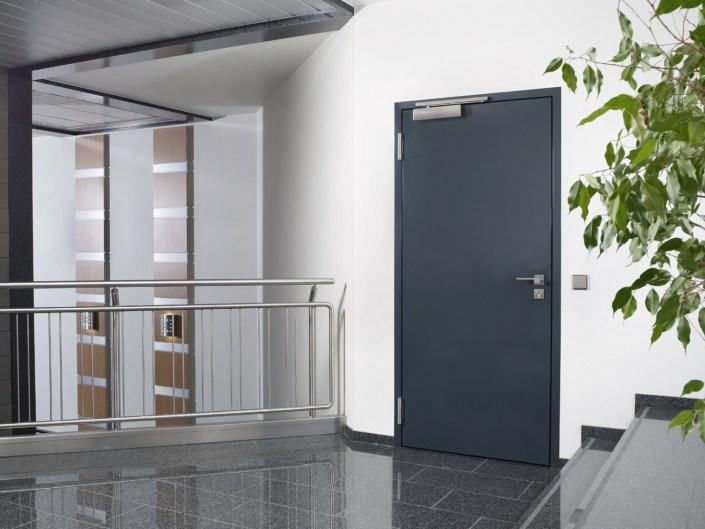 Metallbau Tür