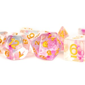 Unicorn Fairy Floss 16mm Poly Dice Set
