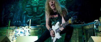 Iron Maidenin Janick Gers tänään 60 vuotta