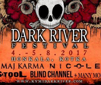 Dark River Festival julkistanut ensimmäiset esiintyjät ensi elokuuksi