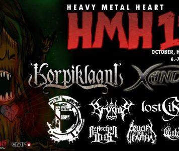 Korpiklaani ja Xandria tähdittämään HMH 11 – festivaaleja lokakuussa!