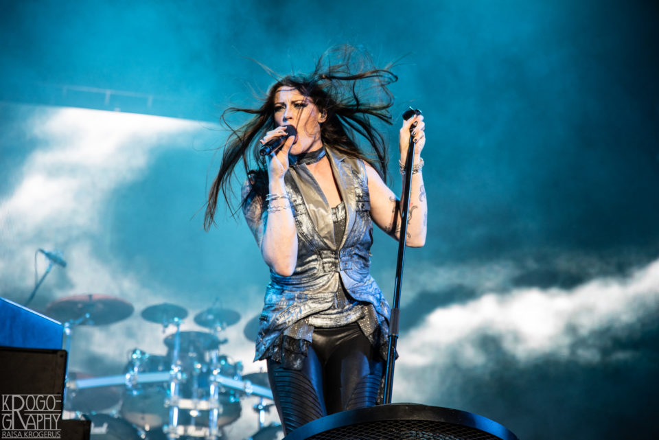 Nightwish Ilosaarirockissa 2018