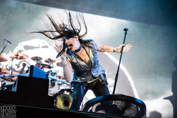 Nightwish Ilosaarirockissa 2018