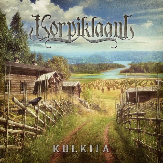 Korpiklaani - Kulkija (2018). Kansitaide: Jan Yrlund