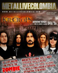 Primera Edición revista virtual Metal Live Colombia