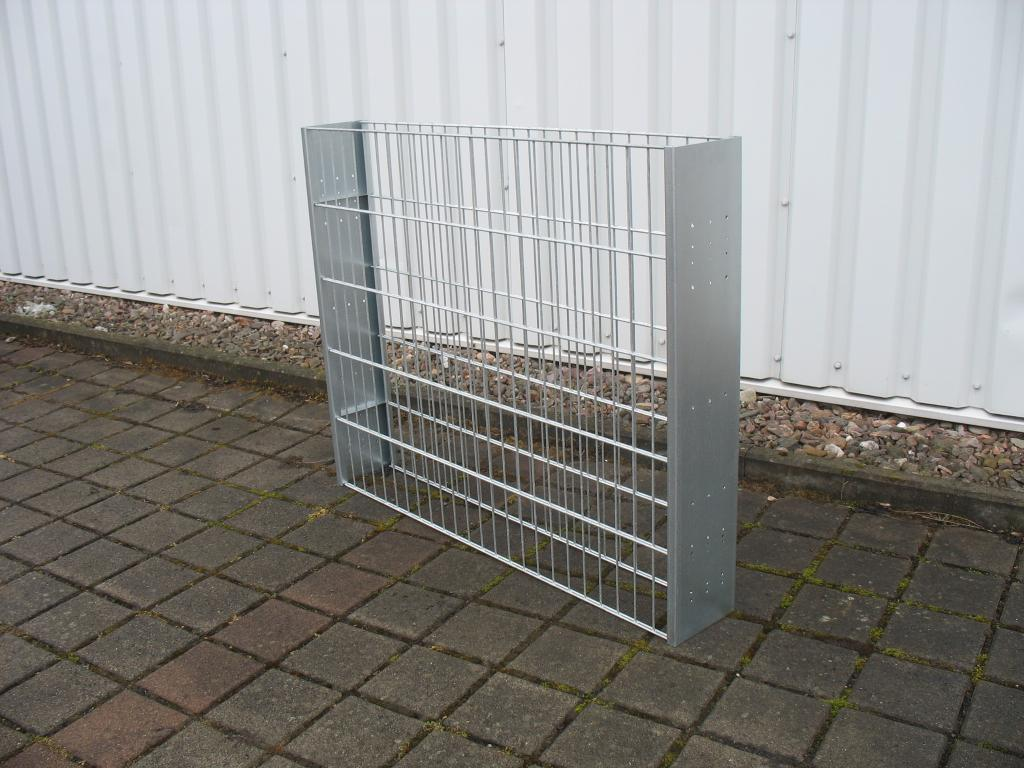 Gabionen Sichtschutz Zaun