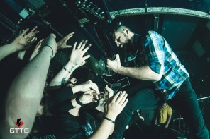 The Dillinger Escape Plan performing at the Waterfront Norwich on 18th January 2017