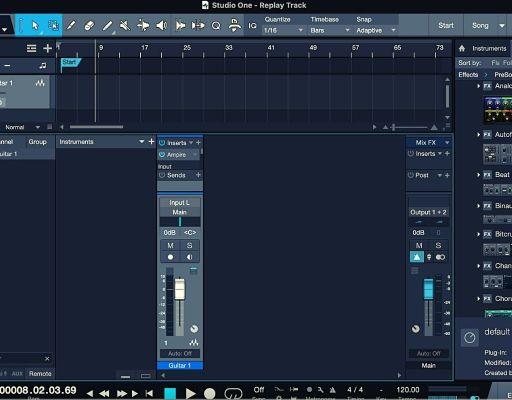 DAW Presonus Studio One Pro