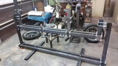 motorcycle frame jig