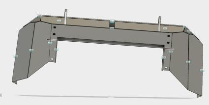 Toyota Landcruiser Bumper 3D Model