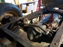 Parallel 4 link and air bag kit installation