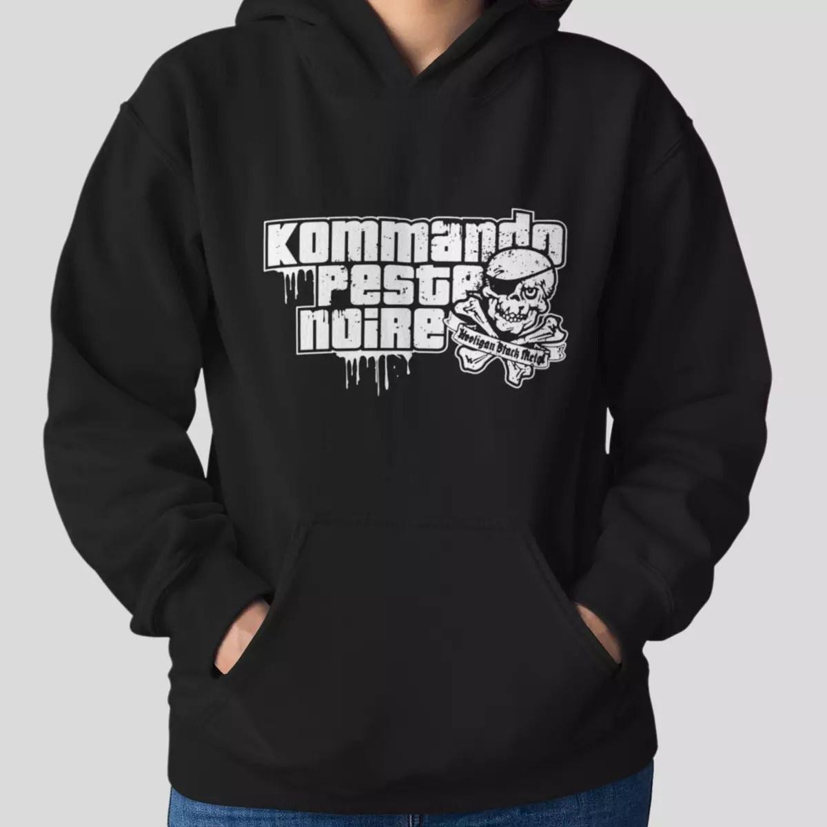 Peste Noire Kommando Hoodie, Black Metal Merch - Metal