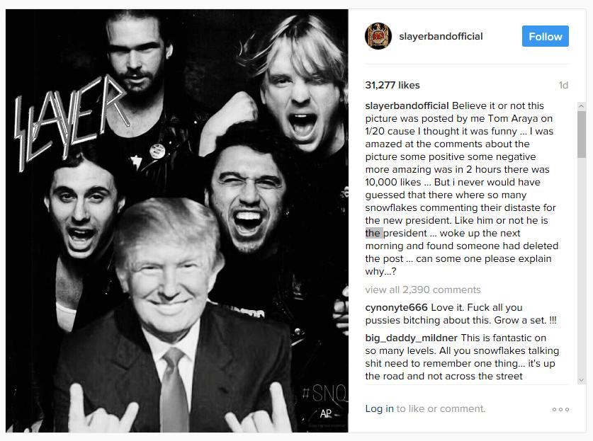 Metal Injection's War Against Free Speech, Trump, & Slayer's Tom Araya