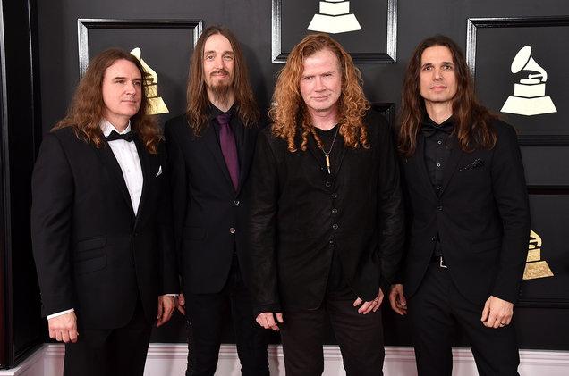 Megadeth Wins Grammy For Best Metal Performance