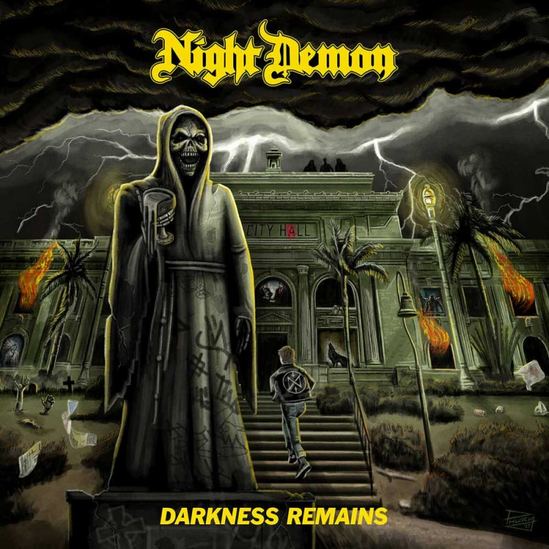 Night Demon's Jarvis Leatherby Talks About New Album Darkness Remains