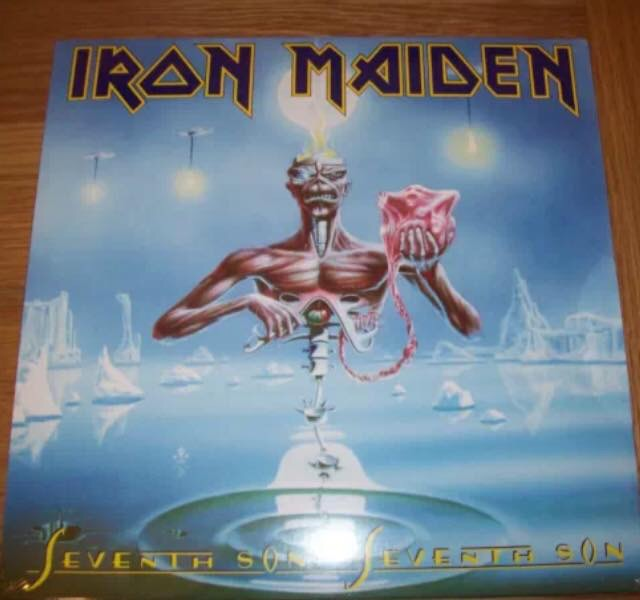 Iron Maiden-Seventh Son Of A Seventh Son : Must Own Heavy Metal/Hard Rock Albums.