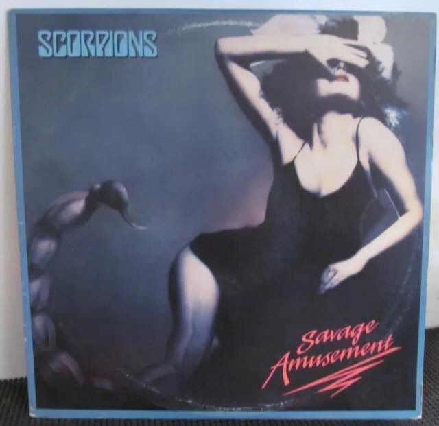 Scorpions-Savage Amusement : Most Anticipated Heavy Metal/Hard Rock Albums Of The 1980s.