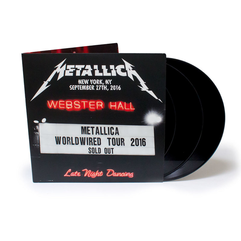 Metallica – Live At Webster Hall To Be Released May 5 2017