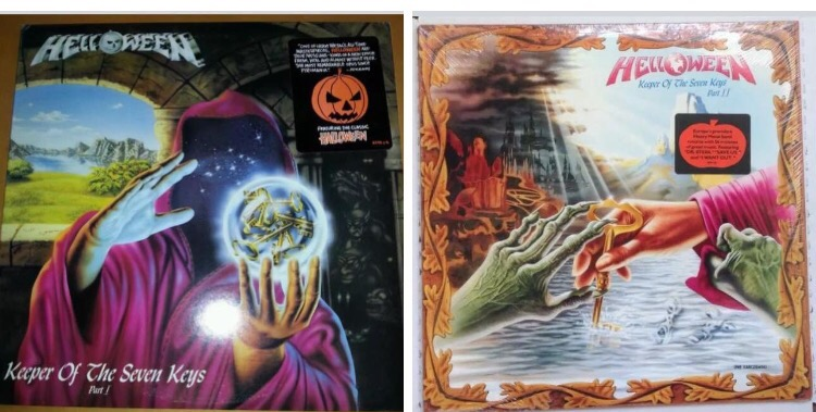 Helloween-Keeper Of The Seven Keys Parts I &II: Must Own Heavy Metal Hard Rock Albums