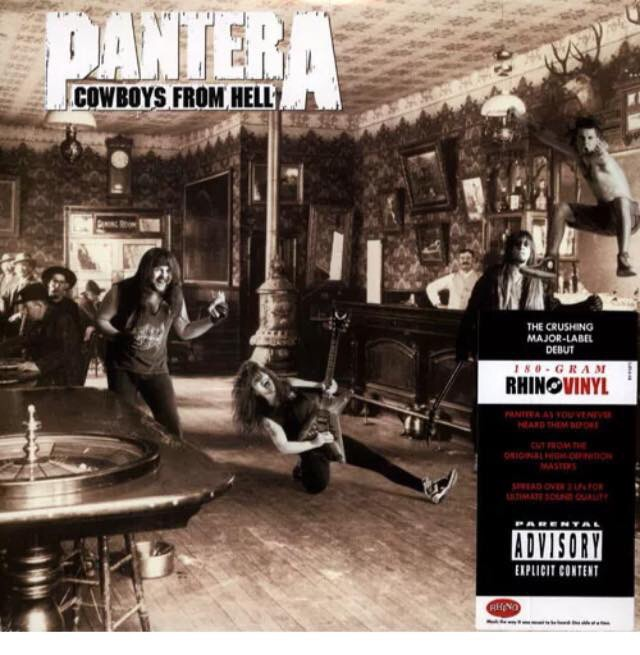 Pantera-Cowboys From Hell : Must Own Heavy Metal/Hard Rock Albums