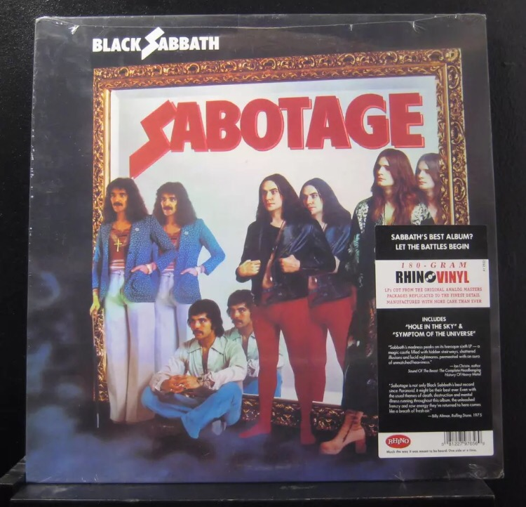 Black Sabbath-Sabotage : Must Own Heavy Metal/Hard Rock Albums