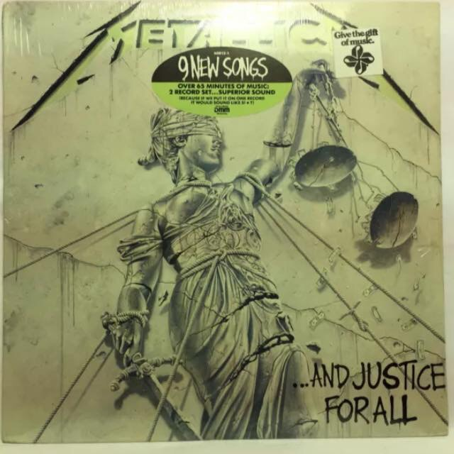 Metallica – And Justice For All : Must Own Heavy Metal/Hard Rock Albums