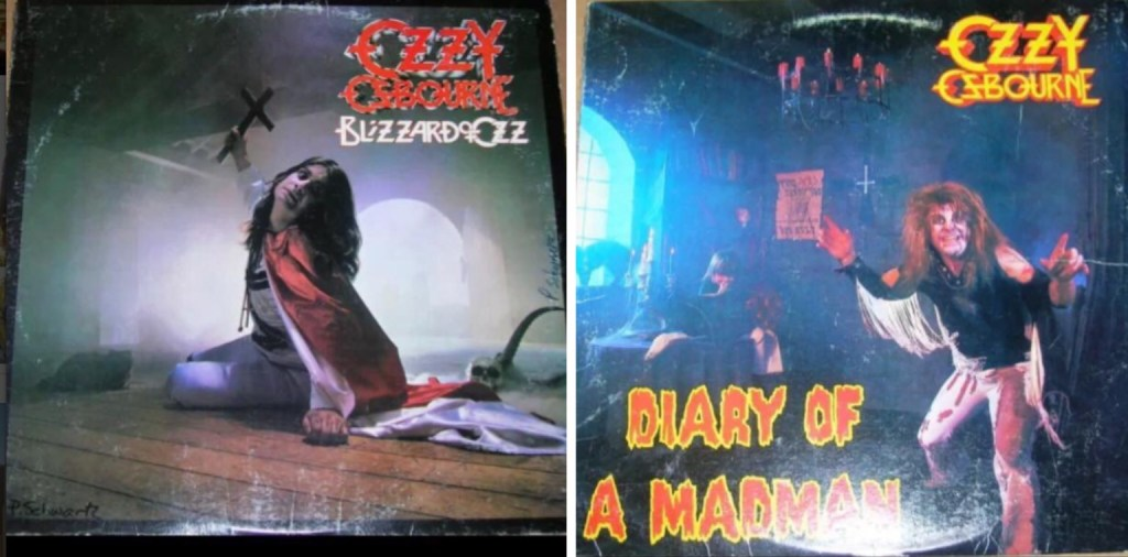 Blizzard Of Ozz Band – Blizzard Of Ozz/Diary Of A Madman : Must Own Heavy Metal/Hard Rock Albums