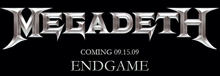 "Megadeth ""Endgame"" Header 2009"
