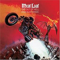 "Meat Loaf ""Bat Out Of Hell"" large album pic"