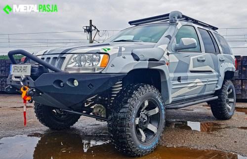 Jeep Grand cherokee wj wyprawowy jeep