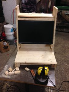 Arcade cabinet: putting the monitor in