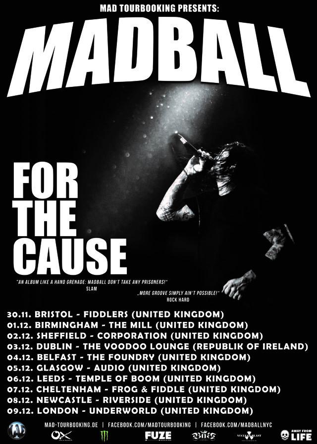 Madball 2018 tour
