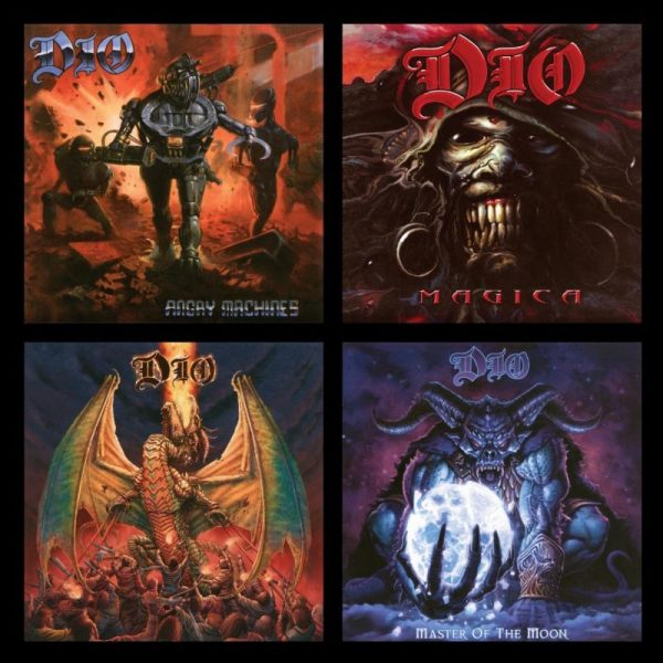 DIO Angry Machines, Magica, Master of the Moon album covers  - The Metal Report - rock, metal and alternative news, interviews, reviews and exclusive features