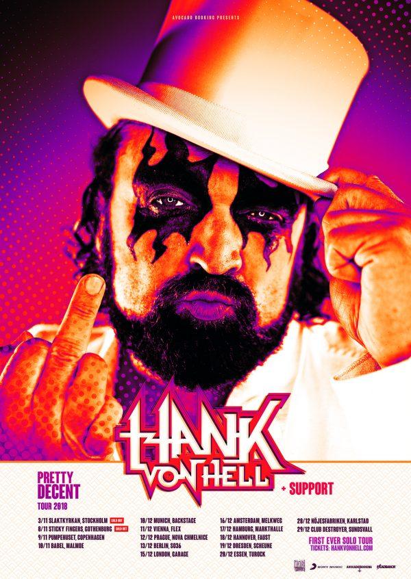 Hank Von Hell Poster
