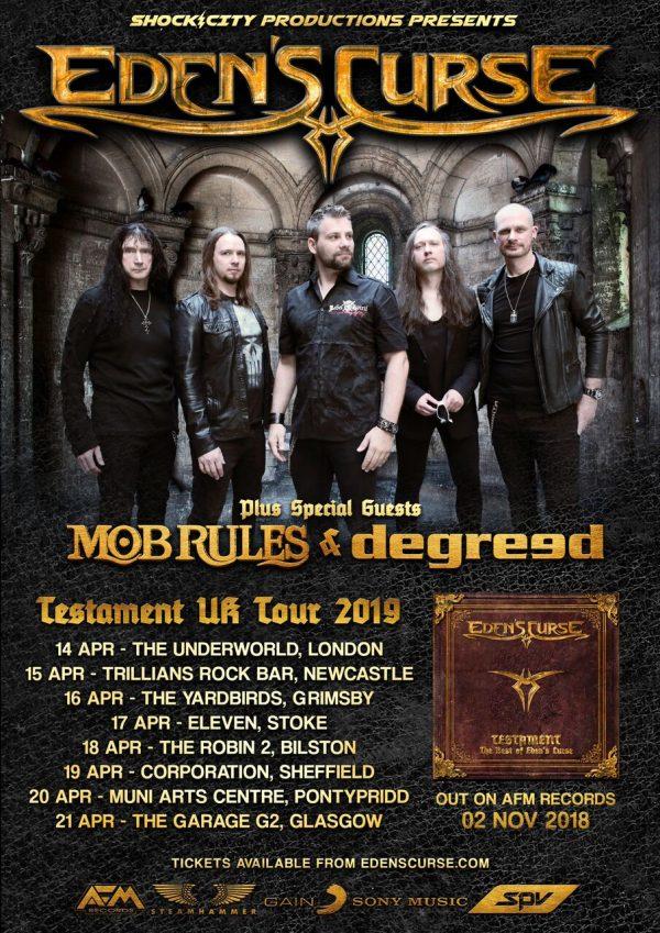 Edens Curse Tour