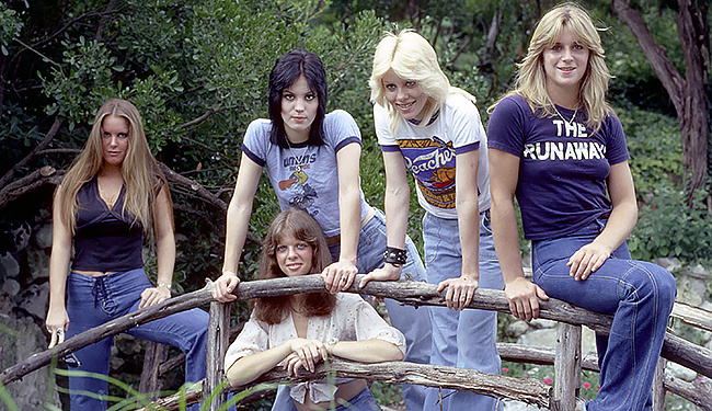 The Runaways history of women in rock
