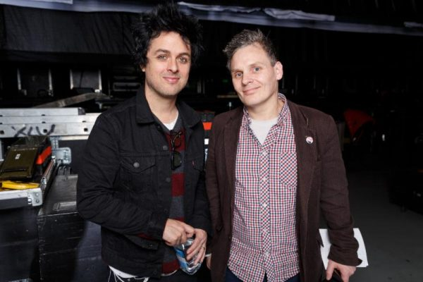 Ian Winwood and Billie Joe Armstrong