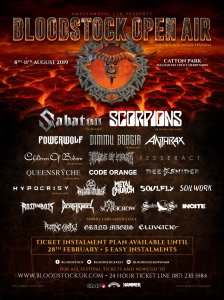 Bloodstock poster 8th January
