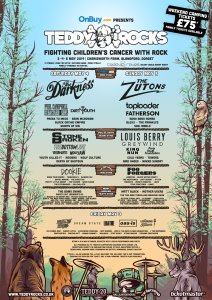 Teddy Rocks Festival Final Line Up Poster