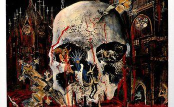 Slayer's South of Heaven album cover artwork