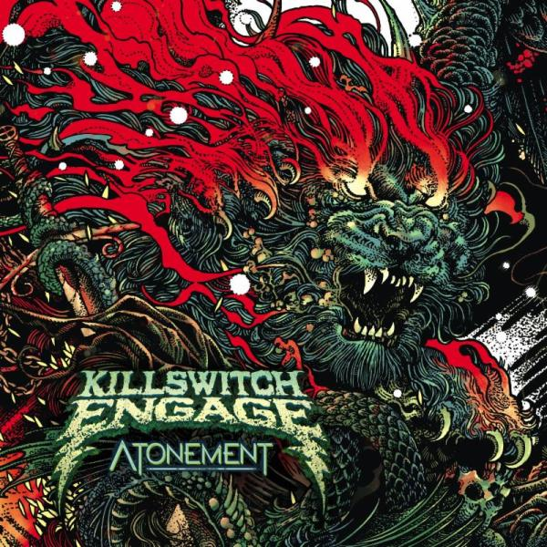 Killswitch Engage Album Cover, Fire and Lion