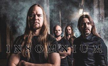 Insomnium Band Photo, Band Members, Metal, Dark Moody Backdrop