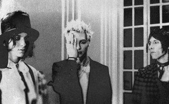 Band Press Photo, Black & White, White Room, Glass Doors